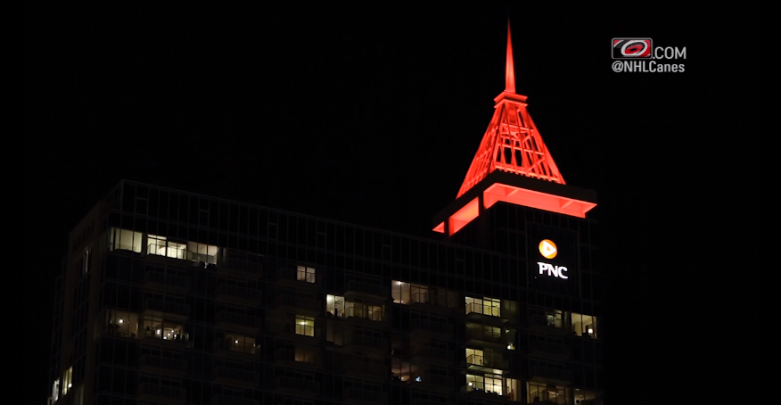 PNC Plaza Spire Goal Light