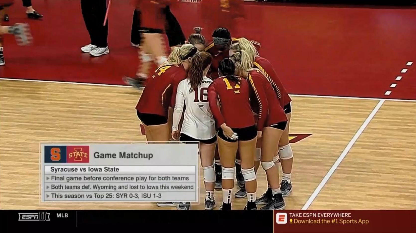 Syracuse vs. Iowa State Volleyball